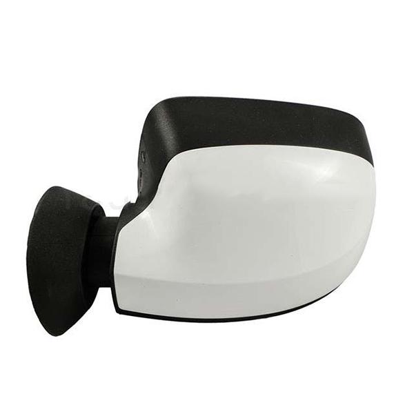 آیینه ال نود کامل برقی چپ سفید اروپایی دینا پارت