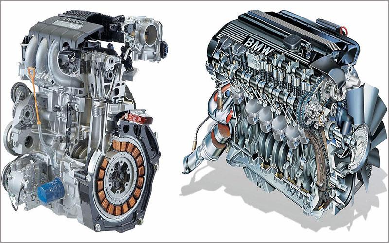 موتور بنزینی چگونه کار می کند