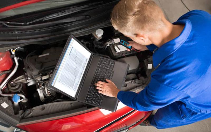علائم برق دزدی ماشین